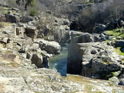 Camino Natural Valle del Lozoya; el caminito del rey el tiemblo raquetas nieve cervera de buitrago